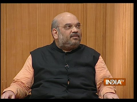 BJP President Amit Shah in Aap Ki Adalat (Full Episode) - India TV