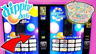 WE FOUND A DIPPIN' DOTS ICE CREAM VENDING MACHINE!