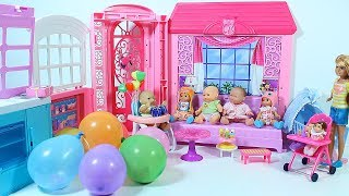 Baby doll Birthday Balloons with Surprises Birthday care Video for kids