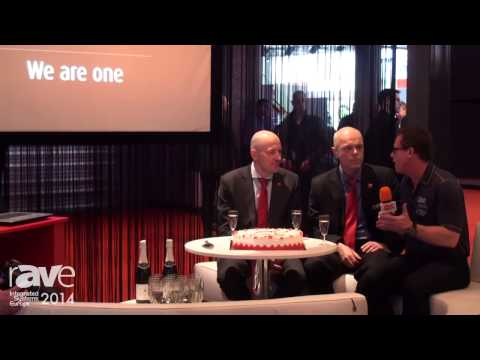 ISE 2014: We Are One – Barco and projectiondesign Celebrate First Birthday