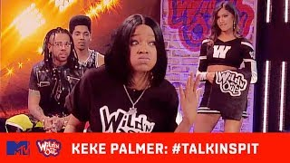 Chico Bean Shows Keke Palmer's Real Hair 😩 | Wild 'N Out | #TalkinSpit