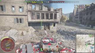 World of Tanks Xbox One T54 Motherland on Siegfried Line