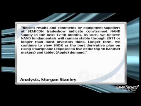 Morgan Stanley Remains Constructive On 2H NAND Memory Fundamentals For SanDisk