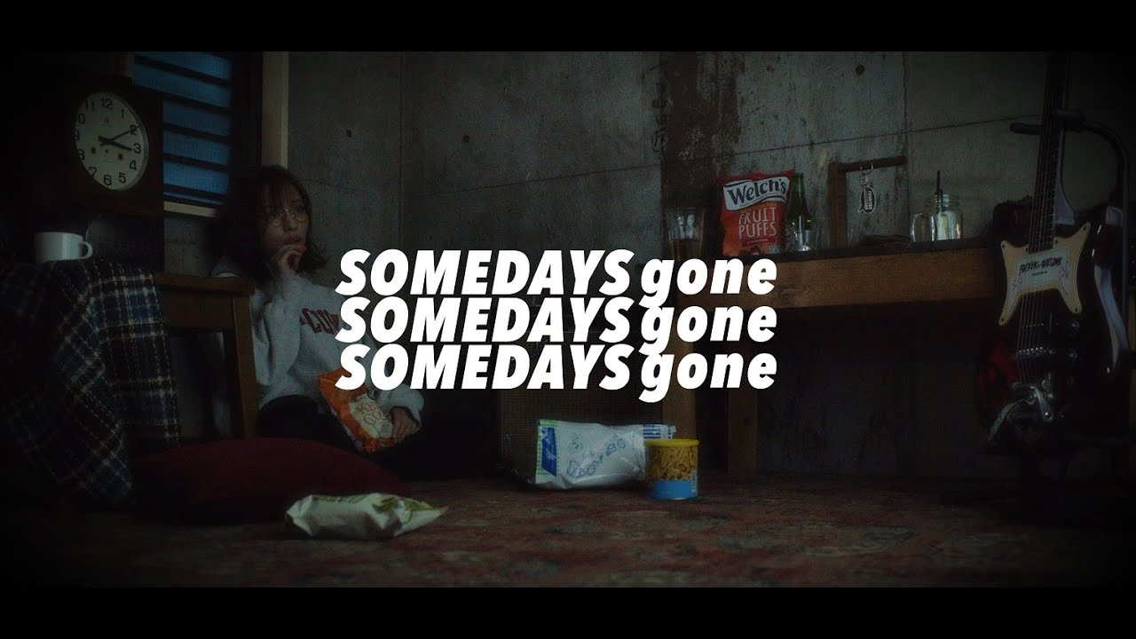 "Someday's Gone - ""Neversleep""のLyric Videoを公開 (cast:あわい あお, director:宮下太輔) 新譜EP「45$50cent」2020年2月5日配信開始 thm Music info Clip"