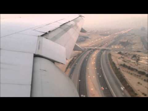 Etihad Airways Boeing 777-300 Takeoff Karachi and Landing Abu Dhabi