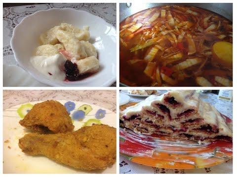 КУЛИНАРНЫЙ Vlog: Меню на неделю\ Что ест МНОГОдетная семья?***ЧТО ПРИГОТОВИТЬ?№32