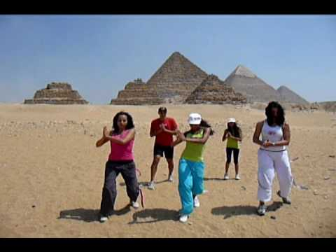Response To Shakira's Challenge Waka Waka By Zumba Egypt video