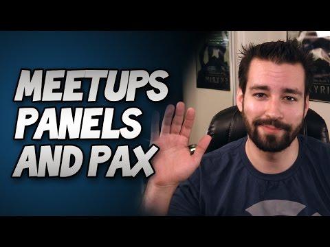 Meetups, Panels, & PAX! (Update Vlog)