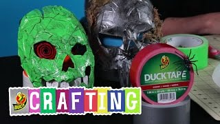 How To Make A Duck Tape Halloween Mask