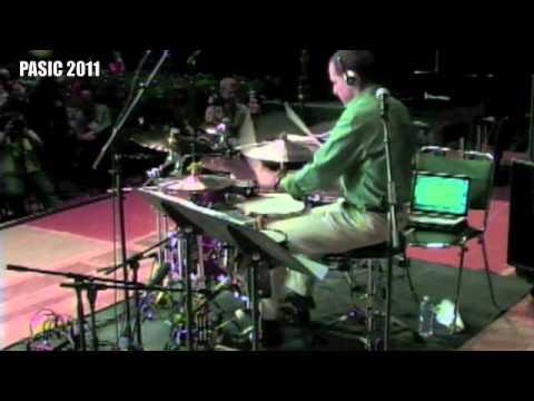 Joe McCarthy Drum Presentation - Pasic 2011 - Austin TX - Latin Jazz Percussion - Grammy Winner