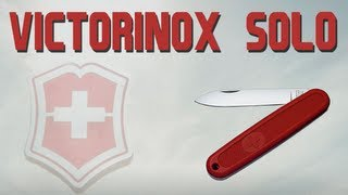 VICTORINOX SOLO - DISCONTINUED MODEL - SWISS ARMY KNIFE REVIEW