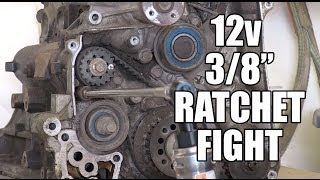 Friday Night Tool Fight - 12v Ratchets Milwaukee vs Mac vs Ingersoll Rand