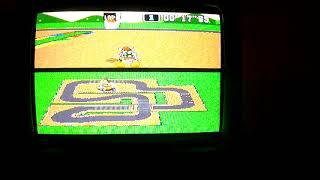 "SMK SNES MC2 Mario Circuit 2 1Lap 14""19 NBT PAL Time Trial Super Mario Kart - kepl3r"