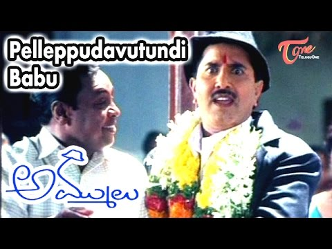 Pelleppudavutundi Babu Song From Ammulu Telugu Movie | Vandemataram Srinivas