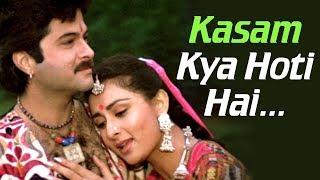 Kasam Kya Hoti Hai (HD) - Kasam Song - Anil Kapoor - Poonam Dhillon - 80's Romantic song