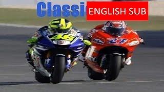 Motogp Losail Qatar 2007 Valentino Rossi Vs Stoner Classic Race  Valentino Rossi