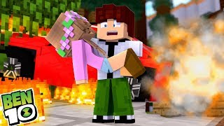 Download BEN 10 SAVES LITTLE KELLYS LIFE | Minecraft Little Kelly 3Gp Mp4