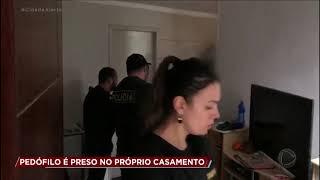 Homem acusado de pedofilia é preso em casamento em São Paulo