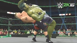 The Incredible Hulk Enters Suplex City (WWE 2K16)