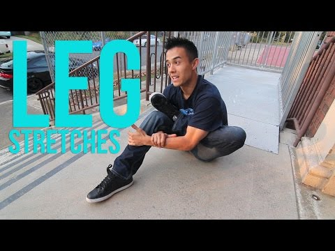 How to Stretch   Leg Stretches   Warming up & Preventing Injuries thumbnail