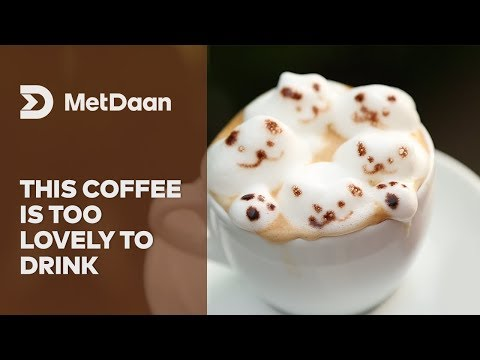 This coffee is too lovely to drink | MET DAAN