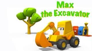 Eğitici çizgi Film - Ekskavatör Max - Karusel - Meslekleri öğrenelim