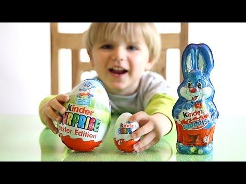 Kinder Surprise BIG Egg vs Kinder Surprise Bunny