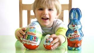 (4.76 MB) TOYS in Kinder Surprise BIG Egg vs Kinder Surprise Bunny - Kids Fun Game Mp3