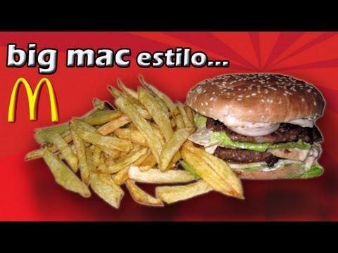 Recetas de Cocina | Como Hacer un Big Mac Casero