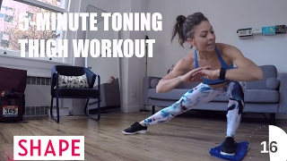 5-Minute Toning Thigh Workout