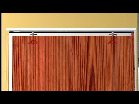 Montaje de puertas correderas (Armazones) de Hoja única y doble para DOORTECH y BASE