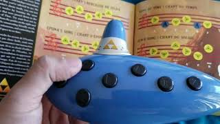 Legend of Zelda electronic ocarina.