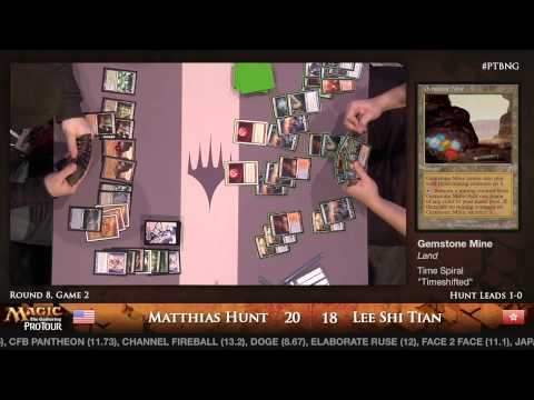 Pro Tour Born of the Gods - Modern Rd. 8 - Michael Hetrick vs. Shi Tian Lee