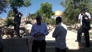 Minister Ariel on Har Habayis