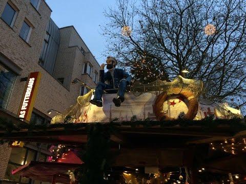 Christmas Market in Altona, Hamburg, Germany