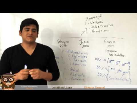 Explicación sobre el Examen Unificado Ser Bachiller y Senescyt.