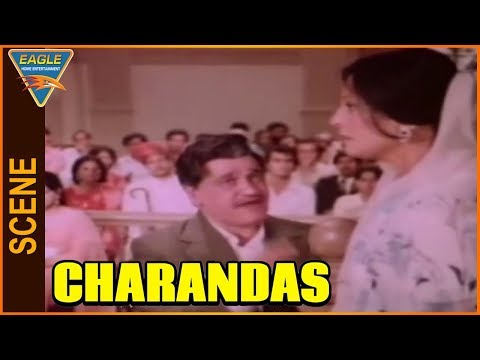 Charandas Hindi Movie || Om Prakash Angry On Urmila Bhatt || Eagle Entertainment Official