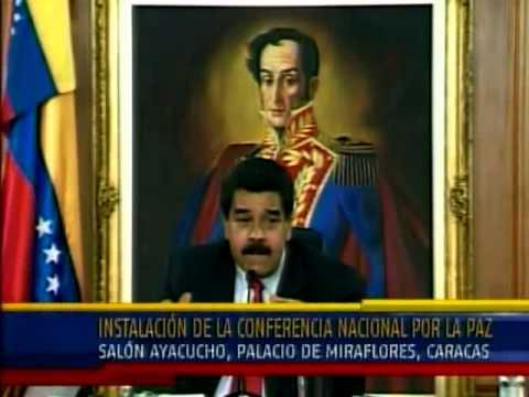 Maduro acepta propuesta de Lorenzo Mendoza