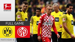 🔴 LIVE   Borussia Dortmund - 1. FSV Mainz 05   Matchday 8 – Bundesliga 2021/22
