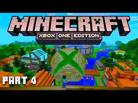 Minecraft XBOX ONE Adventure Part 4 (Next Gen Minecraft PS4 / Minecraft Xbox One)