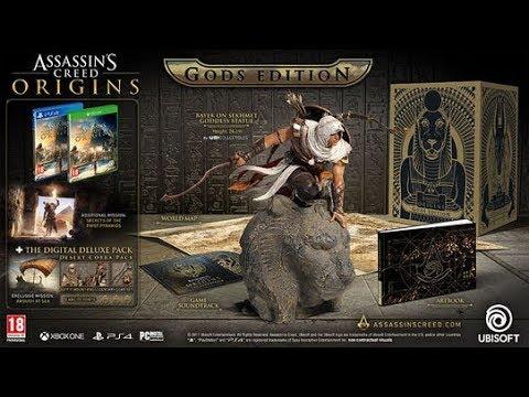 Коллекционное Издание Assassin's Creed Origins Gods Edition UNBOX!