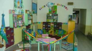 Rincón de Lectura  en Jardín de Infantes Nº1