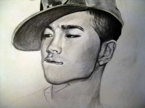 Top Bigbang Drawings Drawing of Taeyang Big Bang
