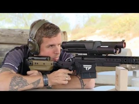 TrackingPoint - Precision Guided Firearm (PGF) Demonstration [360p]
