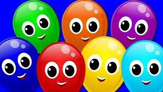 Learn Colors   The Colors Song   Balloons Song   Learning Video For Kids And Children   Kids TV