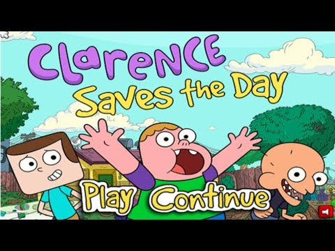 Cartoon Network Games: Clarence - Clarence Saves The Day [full Walkthrough] video