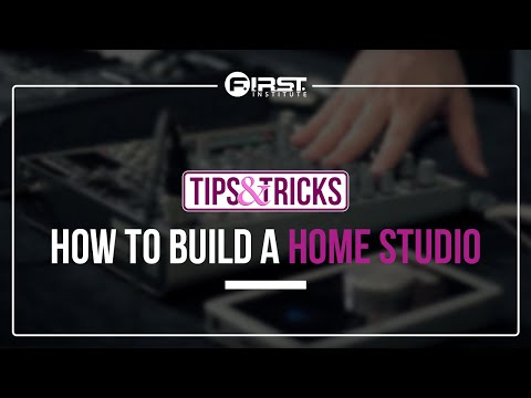 How to Build a Home Studio or Project Studio
