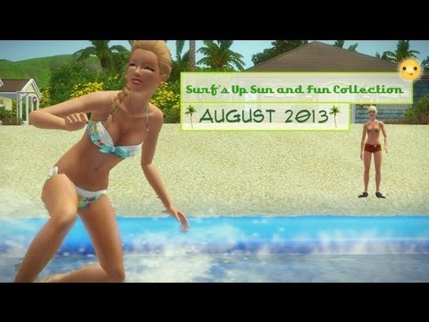 Sims 3 Store : Surf's Up Sun and Fun Collection Overview/Review