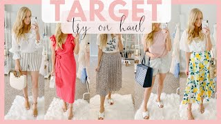 HUGE TARGET SUMMER CLOTHING TRY ON HAUL 2019 | 14 SUMMER OUTFITS | Amanda John