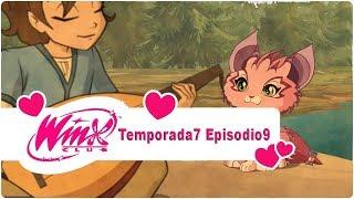 """Winx Club 7x09 Temporada 7 Episodio 09 """"El gato hada"""" Episodio Completo"""